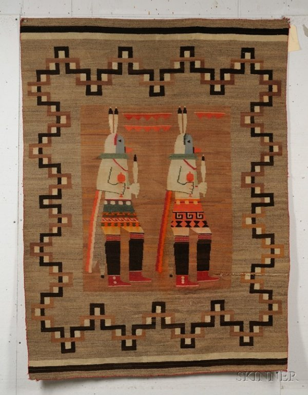 363: Southwest Pictorial Weaving, Navajo, c. 1920s-30s,