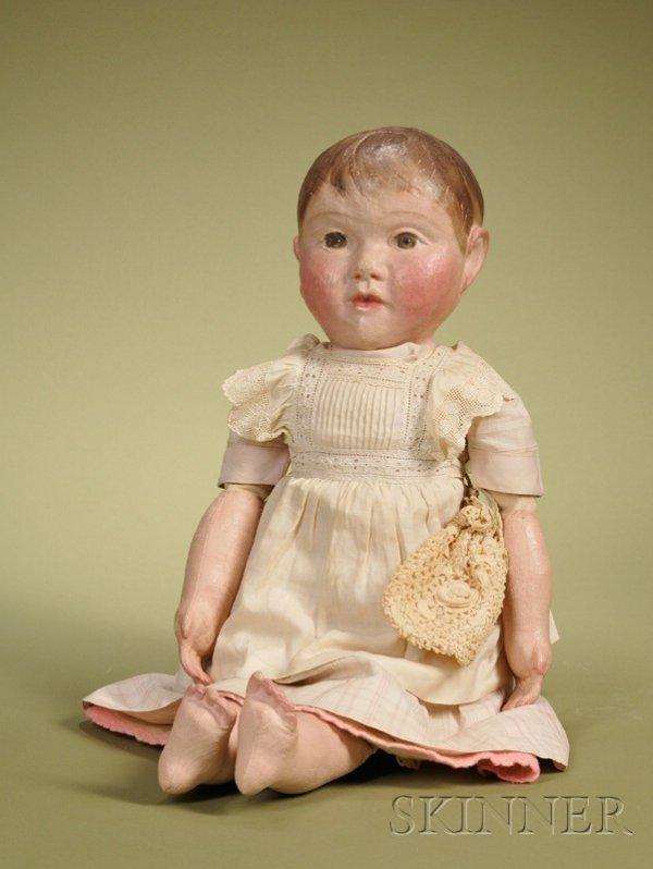 1: J.B. Shepherd Philadelphia Cloth Baby, c. 1900, with