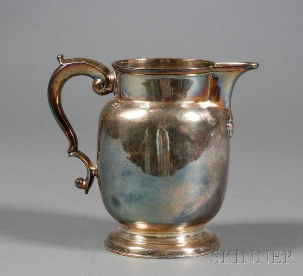 3: George II Silver Milk Jug, London, 1734, maker proba