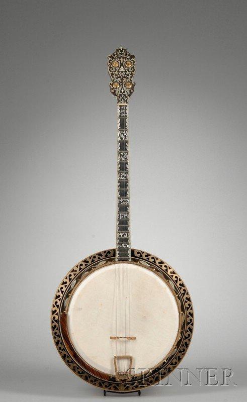4: American Tenor Banjo, Weymann & Son, Philadelphia, c