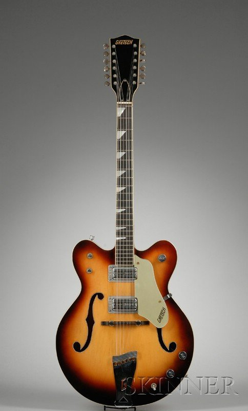 15: American Twelve-String Guitar, Gretsch Company, Bro