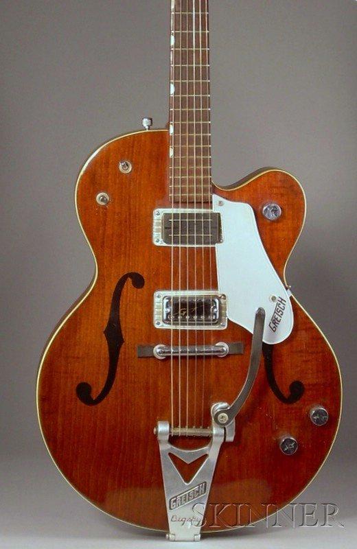 19: American Electric Guitar, Gretsch Company Brooklyn,