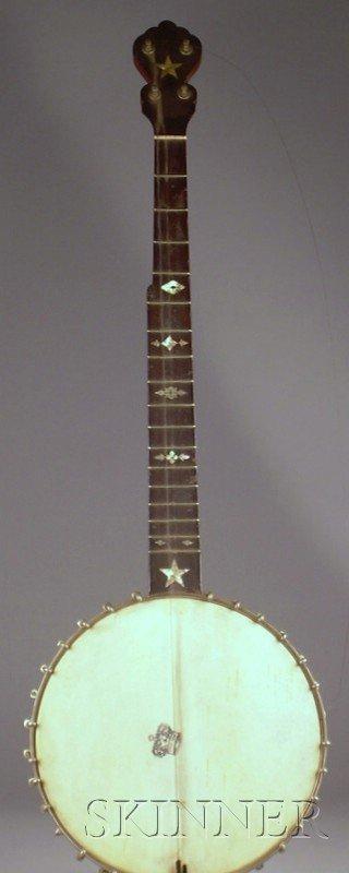 22: Three American Fretted Instruments, a mandolin labe