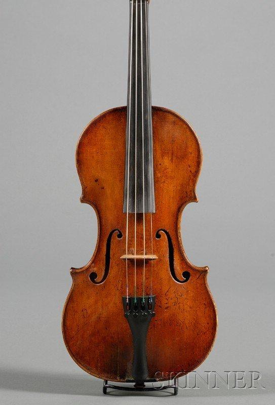47: Italian Violin, J.B. Gabrielli, Florence, 1766, lab