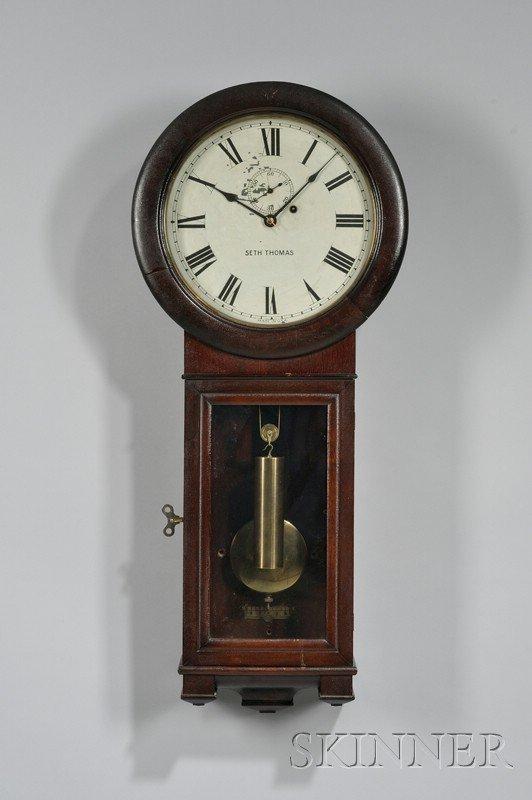 512: Seth Thomas No. 2 Regulator Clock, Thomaston, Conn