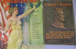 226: Eight Assorted WWI Era Posters, Buy Liberty Bond L