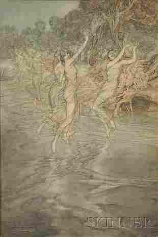 546: Arthur Rackham (British, 1867-1939) Original water