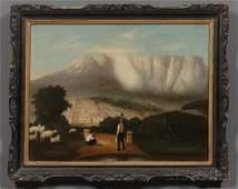 133: Chinese School, 19th Century Shepherd and Angler O