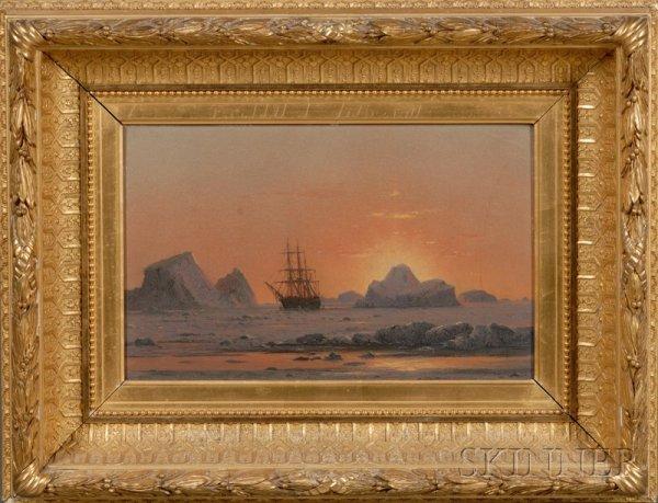 254: William Bradford (American, 1823 - 1892) Arctic Su