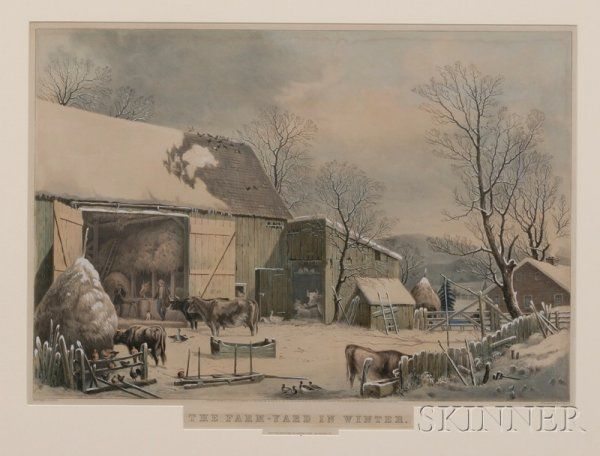 493: Currier & Ives, publishers (American, 1857-1907) T