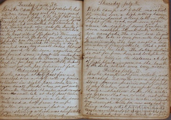 4: (American Indian Wars), Wright, Edward F., Manuscrip