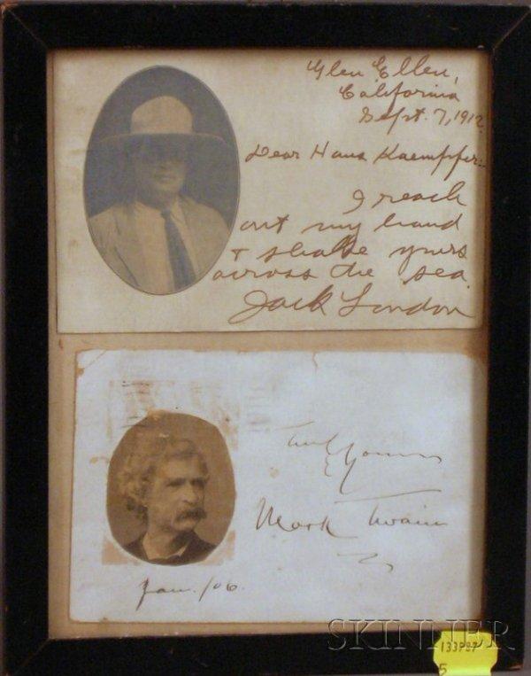 5: (American Literature), London, Jack (1876-1916) & Cl