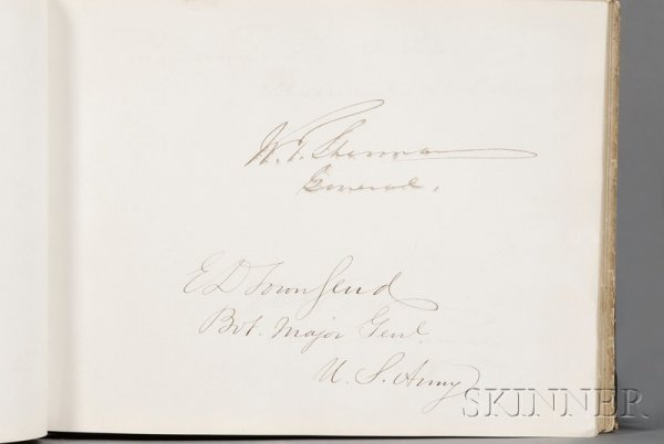 10: (Autograph Book, 19th Century), Large and extensive