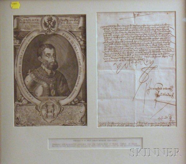 22: Charles V, Holy Roman Emperor (1500-1558), Manuscri