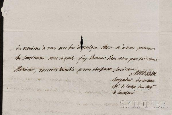146: Montcalm de Saint-Veran, Marquis Louis Joseph de (