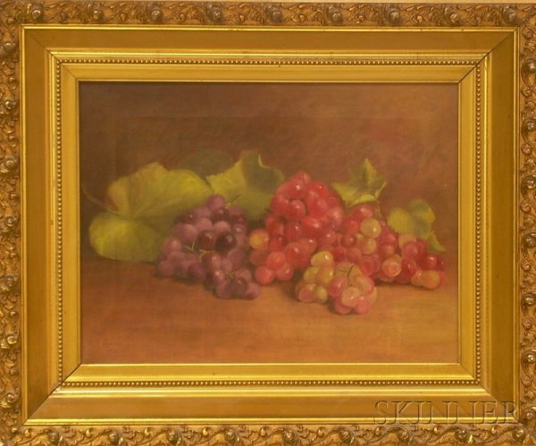 1: Framed 20th Century American School Oil on Canvas St