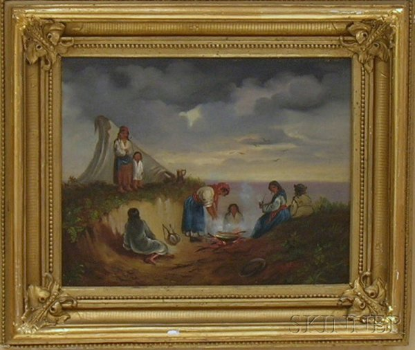 16: Lot of Two Framed Oil on Canvas 19th/20th Century S