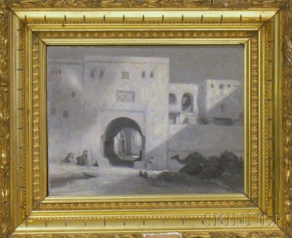 19: Framed 19th/20th Century Continental School Oil on