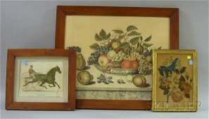 941 Five Framed Decorative Items a Jakob E Schalter