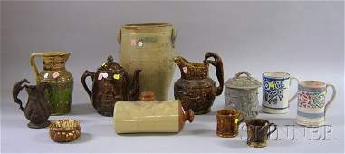 1189: Twelve Pieces of Assorted Stoneware and Ceramics,