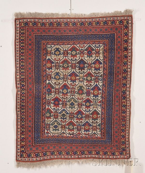 1: Daghestan Rug, Northeast Caucasus, last quarter 19th