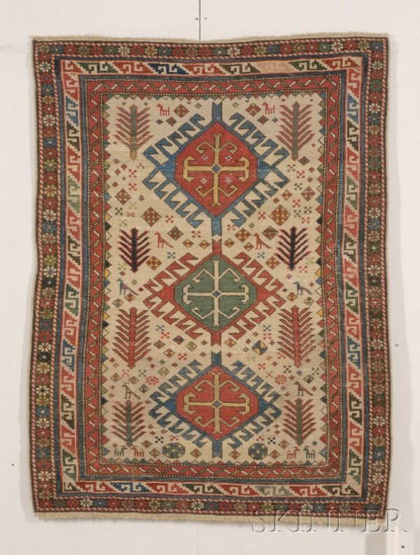 3: Shirvan Rug, East Caucasus, second half 19th century