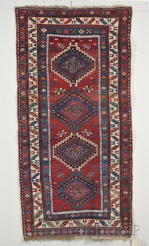 7: Gendje Long Rug, South Central Caucasus, late 19th/e
