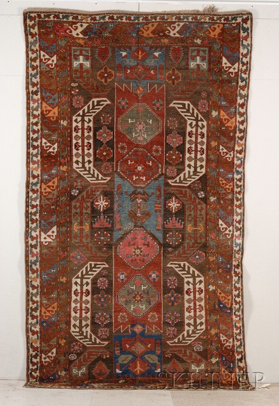 10: Kuba Rug, Northeast Caucasus, second half 19th cent