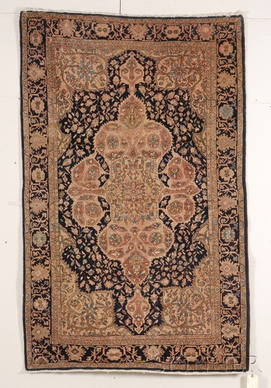 12: Sarouk Rug, West Persia, late 19th century, 6 ft. 8