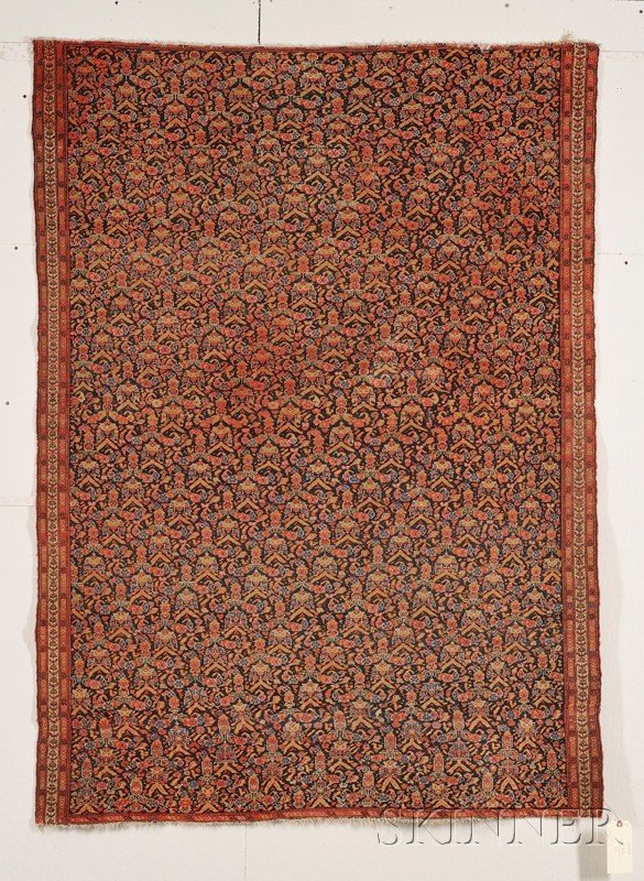 14: Senneh Rug, Northwest Persia, last quarter 19th cen
