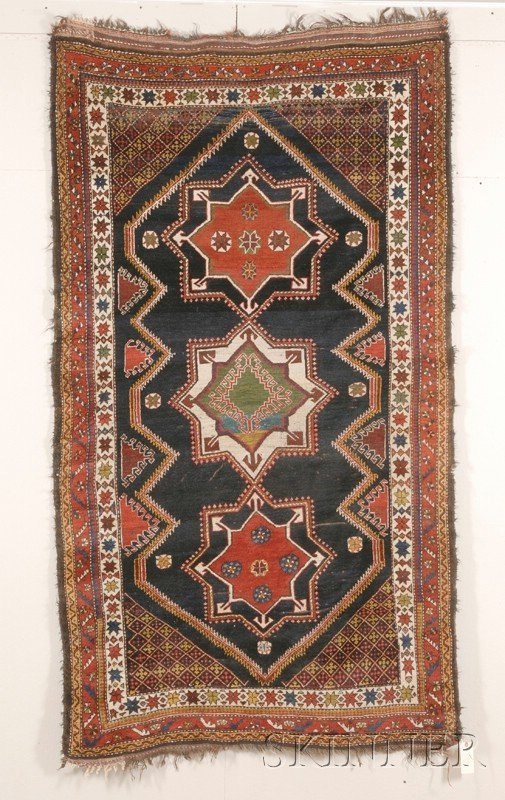 18: Luri Rug, Southwest Persia, early 20th century, (se