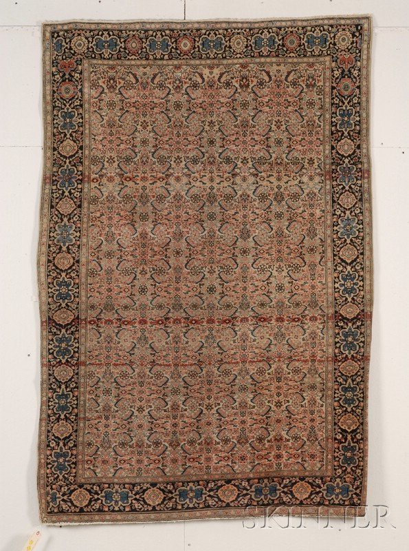 19: Fereghan-Sarouk Rug, West Persia, late 19th/early 2