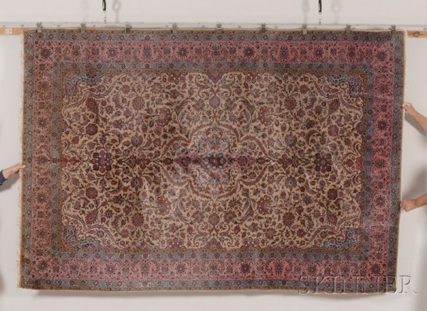 21: Kashan Carpet, Central Persia, early 20th century,