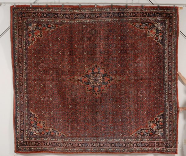 22: Bidjar Carpet, Northwest Persia, early 20th century