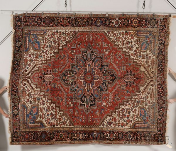 24: Heriz Carpet, Northwest Persia, second quarter 20th