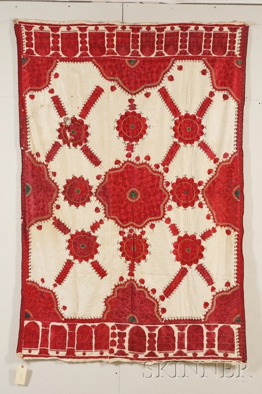 153: Central Asian Embroidered Textile, 20th century, (