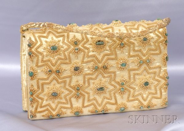 16A: Gem-set Evening Bag, India, the silk purse elabora