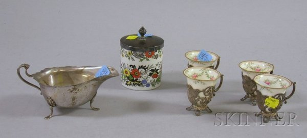 10: Group of Silver and Silver Plated Serving Items, fo