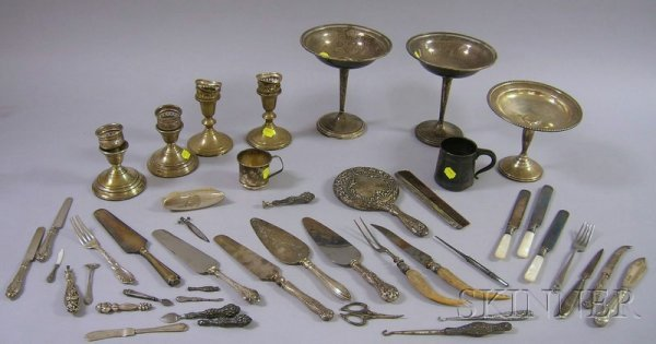 15A: Group of Miscellaneous Sterling Silver Articles, i