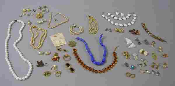 272: Group of Costume Jewelry, including a Trifari whit