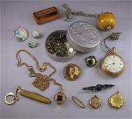 356 Group of Assorted Jewelry Items including three l