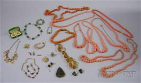549 Group of Assorted Gold and Costume Jewelry includ