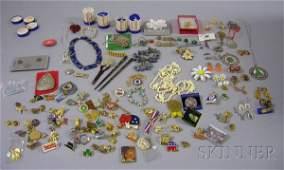 603: Large Group of Assorted Jewelry and Costume Jewelr