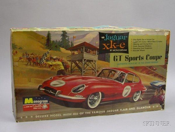 804: Jaguar XKE GT Sports Coupe Toy Kit Car in Original
