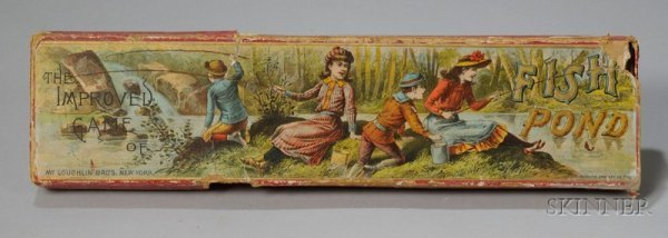 805: Group of Early Children's Games and Books, 19th an