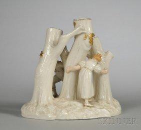 1: Royal Worcester Porcelain Figural Group, England, la