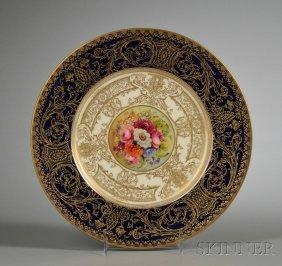 2: Twelve Royal Worcester Bone China Service Plates, En