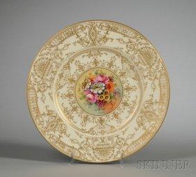 4: Ten Royal Worcester Bone China Service Plates, Engla