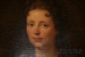 10: French School, 18th Century Portrait of Louise Adél