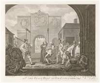 210 William Hogarth British 16971764 Four Works O